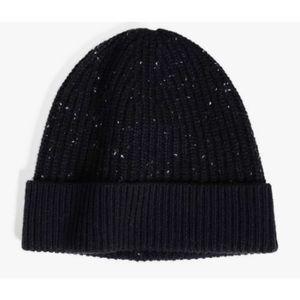 🎁 Club Mónaco Black Cashmere Kensington Hat